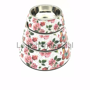 OEM/ODM Stainless Steel Pet Dog Bowls Custom Pattern/Logo