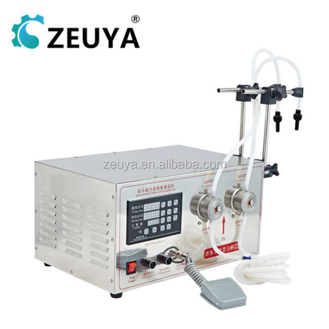 ZEUYA Automatic 4 heads automatic perfume filling machines Manufacturer YG-2