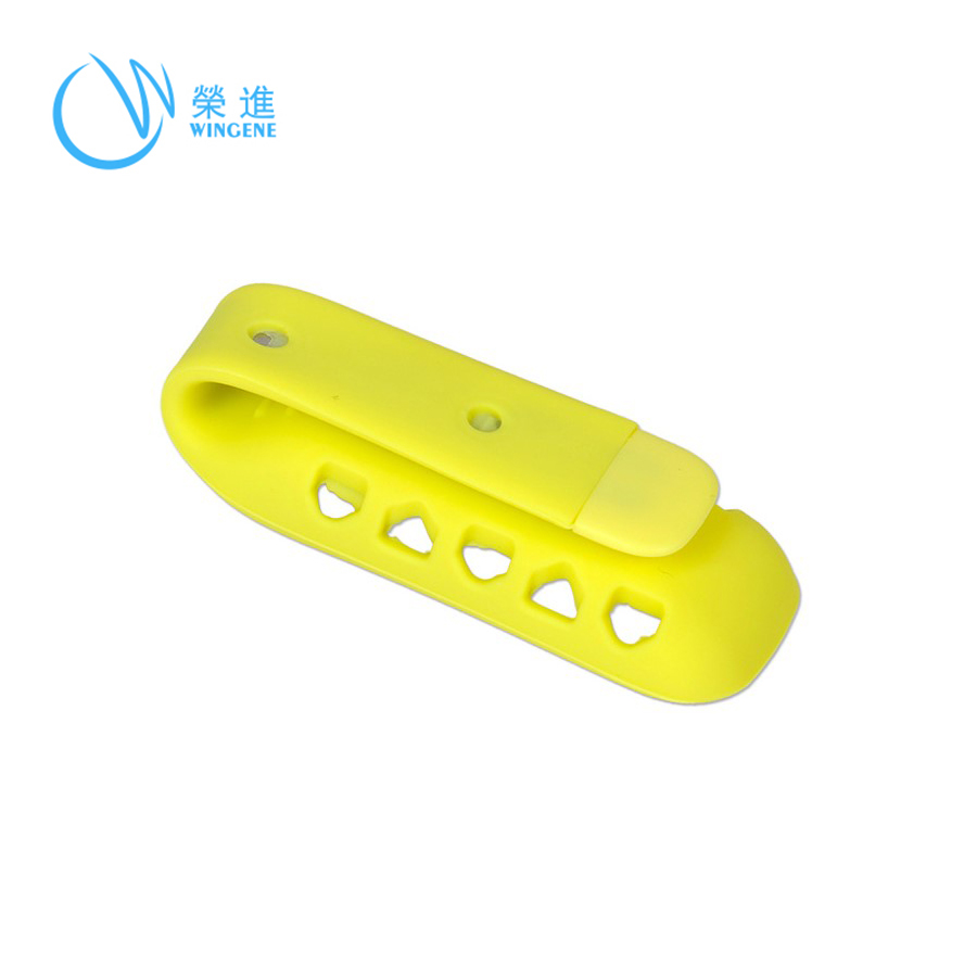 Eco Friendly Custom Silicone Clip Holder/Magic Silicone Clip Holder