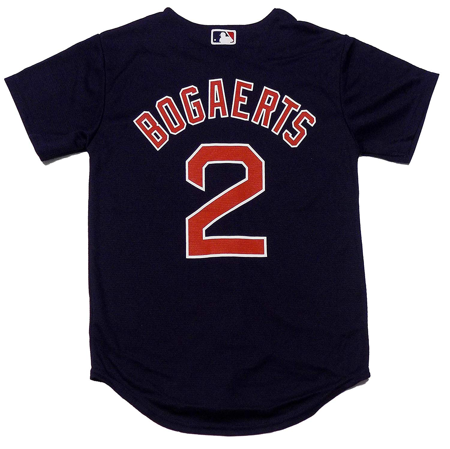 Get Quotations · Outerstuff Xander Bogaerts Boston Red Sox Navy Blue Youth  Cool Base Alternate Replica Jersey 68e9f493a7e