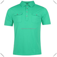 custom sublimated uniform golf polo shirt mercerized cotton 100% for mens with fashion design and two chest pocket