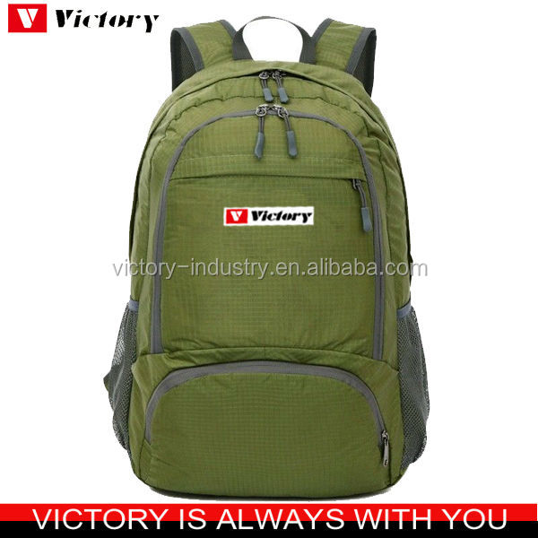 Foldable custom printed backpack manufacturer