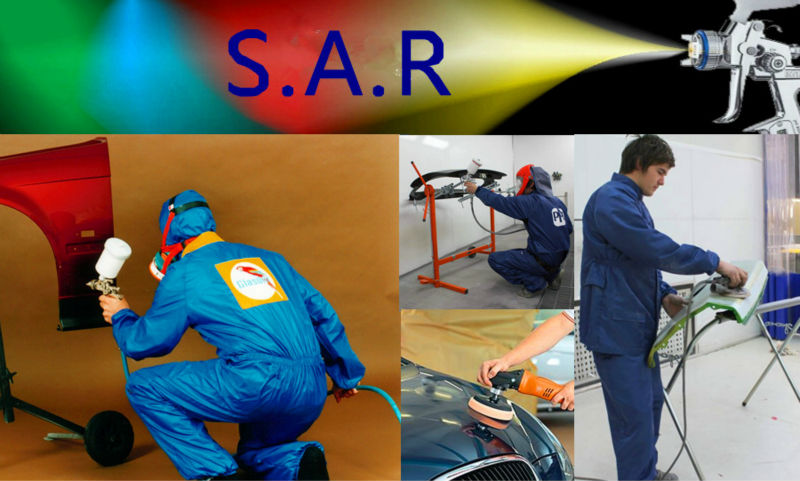 SAR Palm Blow Gun BLUE