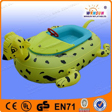 Hot new custom popular commercial inflat pedal boat for sale