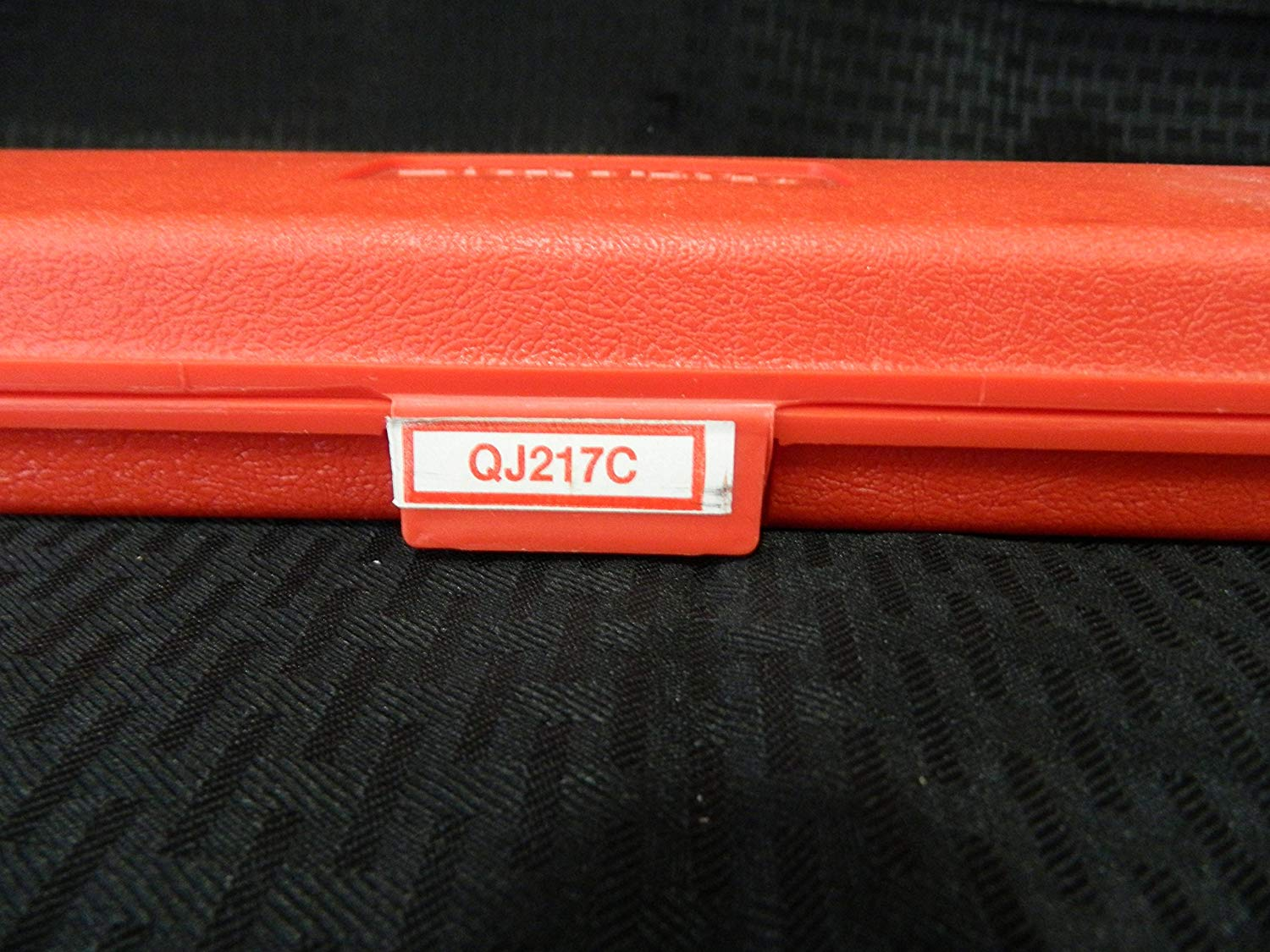 """Snap-On 3/8"""" Drive Click Type Ratcheting Torque Wrench 30-200 In-Lb, Vintage/Rare in this Condition, Part #QJ217C"""