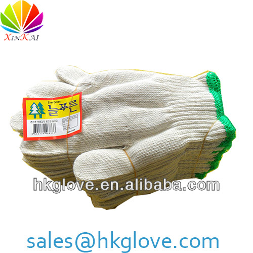 7 Gauge 100% Cotton Seamless Gloves Factory NEARBY Yiwu HKA1092