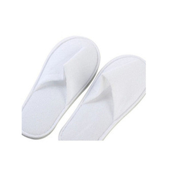 Oempromo custom logo washable disposable hotel slippers