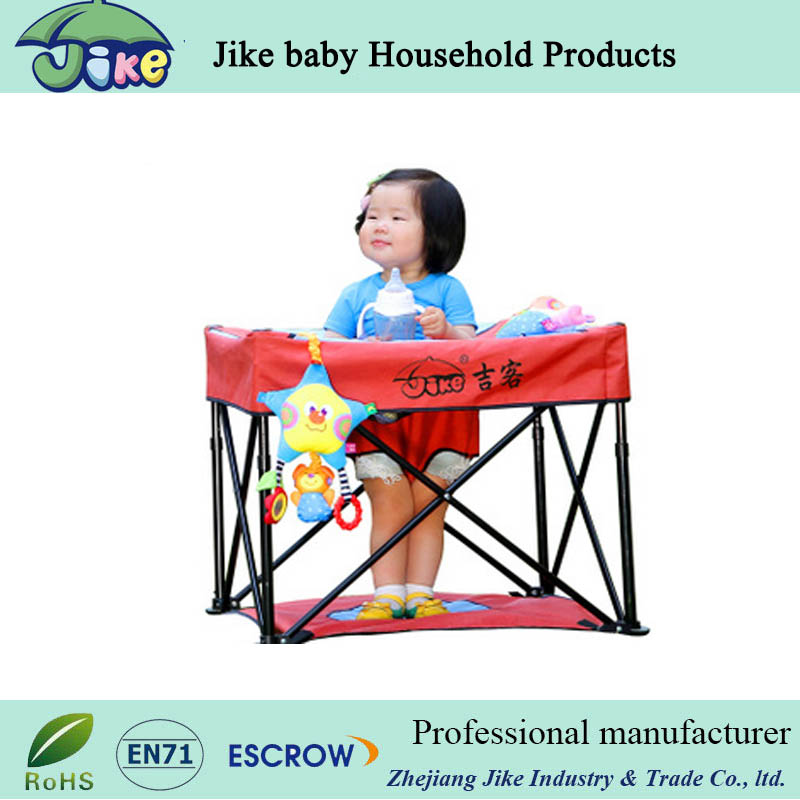baby safety defence Chair Type And Plastic And Steel Safety Belt Harness High Baby Chair