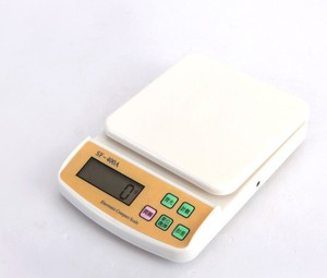 SF400 LCD Display Plastic Digital Kitchen Scale Food Scale