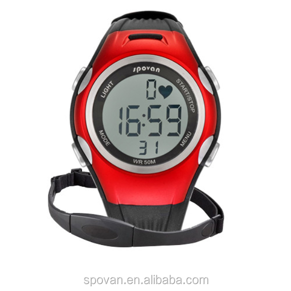 2015 Best Selling Health Wear Heart Rate Monitor Fitness Watch With Chest Belt