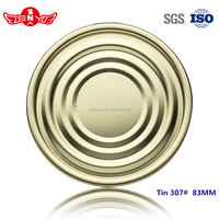83mm 307# for air freshener in cars tinplate easy open bottom lid