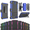 3 in 1 shockprpoof combo holster case for zte grand x3 z959, for zte grand x3 case with belt clip