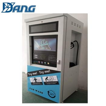 DAYANG1.6KW 80 bar Coin/card/banknote operated car washing self service machine/self-service steam carwash machines equipment
