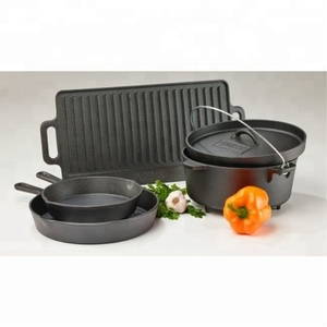 Wholesale Heavy Duty Cast Iron Camping Cookware