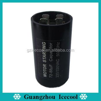 Cd60 motor starting capacitor air compressor start for Motor start capacitors for sale