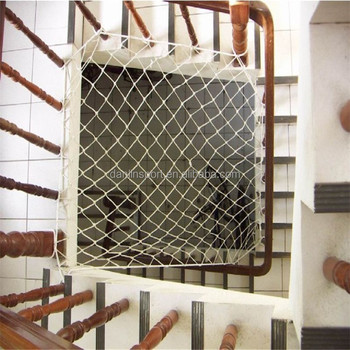 High Quality Durable Stair Railing Safety Net Gangway Safety Net Fall  Protection Net For Children