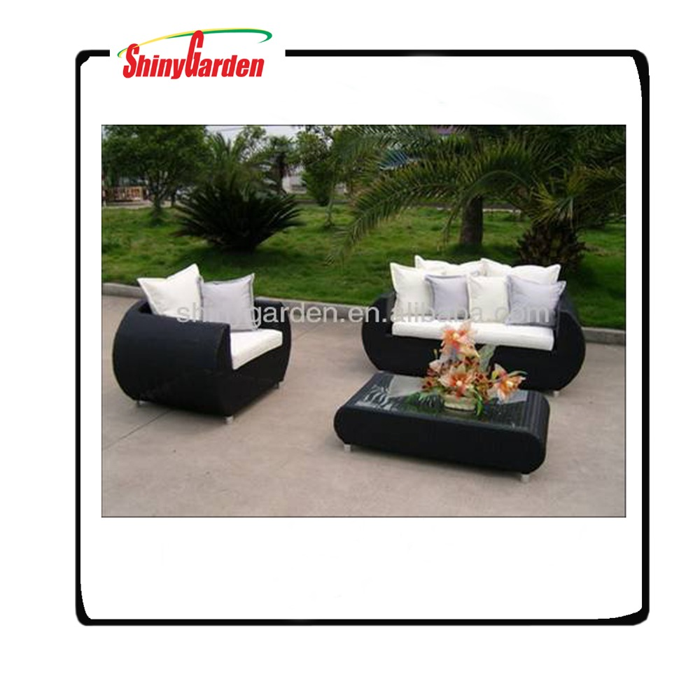synthetic rattan garden furniture,rattan luxury sofas outdoor furniture,plastic rattan woven furniture outdoor