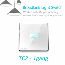 Broadlink TC2 1/2/3 Gang Wireless Remote Wifi Wall Light Touch Screen Switch Smart Home Automation Control Smart Switches