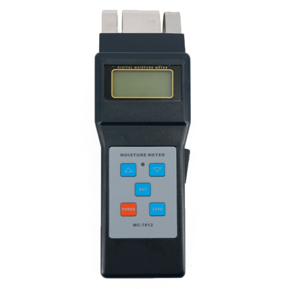Graigar MC7812 Digital Wood Moisture Meter with Measurement range 0-80%