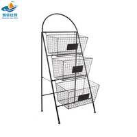 Hot sale stainless steel wire metal laundry basket