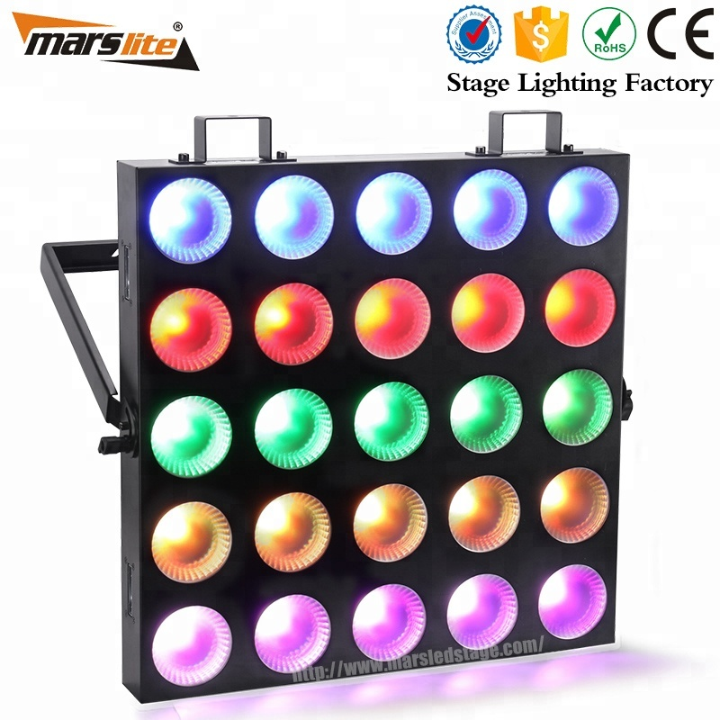 Professional Dmx512 Control 5x5 Dmx Led Audience Blinder Matrix Panel Beam 25x10w Rgbw 4 In 1 Led Matrix Blinder Light A Complete Range Of Specifications Back To Search Resultslights & Lighting Stage Lighting Effect