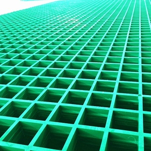 Grp fiberglass car wash grating floor
