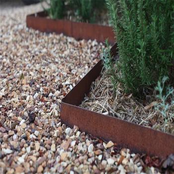 Corten Steel Rusted Metal Landscape Garden Edging