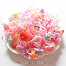 kids plastic cartoon rings children play rings children accessory