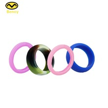 Silicone Rubber Wedding Gift Embossed Ring With Free Samples Band For Woman