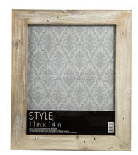 Rustic Style Tabletop Wood Picture Frame for Home Decor