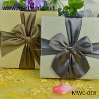 2017 New design elegent square check wedding favor gift boxes,gift boxes for wedding favors(MWC-018)