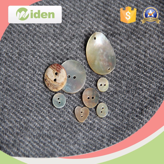 Fancy Decorative Pearl Shell Buttons for Kids