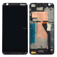 For HTC Desire 820 Black Touch Digitizer Screen+Lcd Display Assembly+Frame