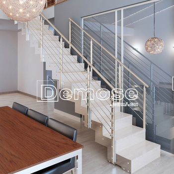 Steel Staircase /steel Folding Stairs / Build Floating Staircase