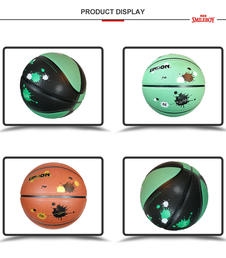 Promotional Sporting Goods Pu Leather Basketball youth basketball
