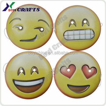 Hot Selling Face Halloween Emoji Mask - Buy Emoji Mask,Halloween ...