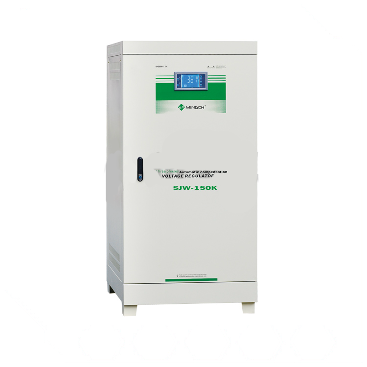 MINGCH SJW Series non contact intelligent 100% capacity 150Kva Power Voltage Regulator Stabilizer