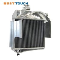 84-90 CHEVY CORVETTE 5.7 L83/S10 V8 aluminum and plastic radiator sales for CHEVROLET