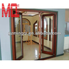2016 aluminium framed windows tinted glass Double tempered glass, casement door