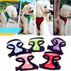 Cheap Dog Clothes For Small Dogs/ Pet Adjustable Chest Strap/ Simply Dog Clothes