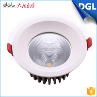 2016 new product cheap price interior decoration recessed ceiling dimmable 12w 15w 22w cob led light downlight with CE