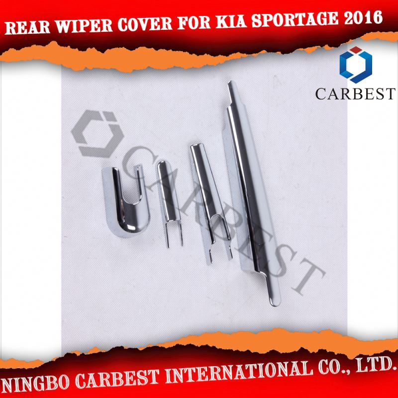 High Quality New ABS Chrome Rear Wiper cover for Kia Sportage R 2016