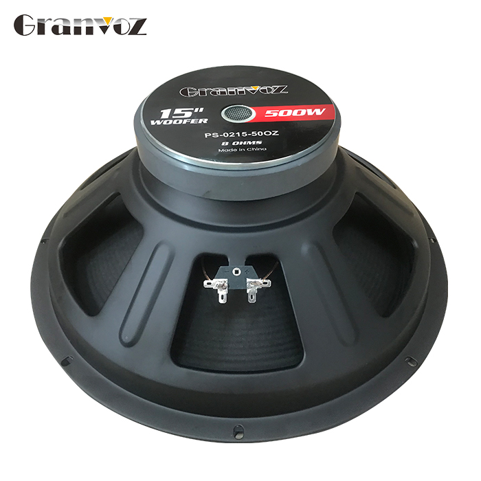 15 inch 8 ohm 800W powered subwoofer for speaker audio pioneer driver speaker with aluminium voice coil