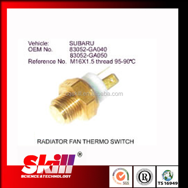 Auto Radiator Fan Thermo Switch for Subaru 83052-GA050 with M16X1.5