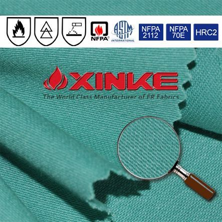 pass en 11612 fire prevention textile factory for protective workwear