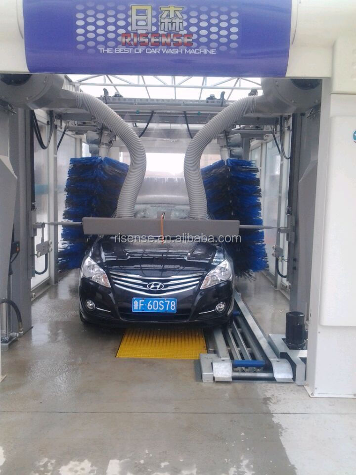 automatic tunnel car wash machine, carwash equipment with CE