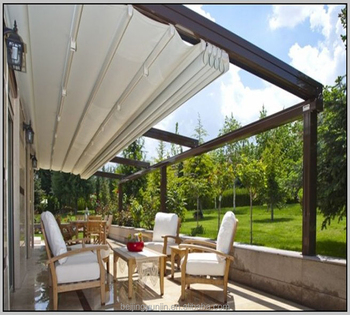 Electric Operation Aluminum Folding Pergola Buy Folding