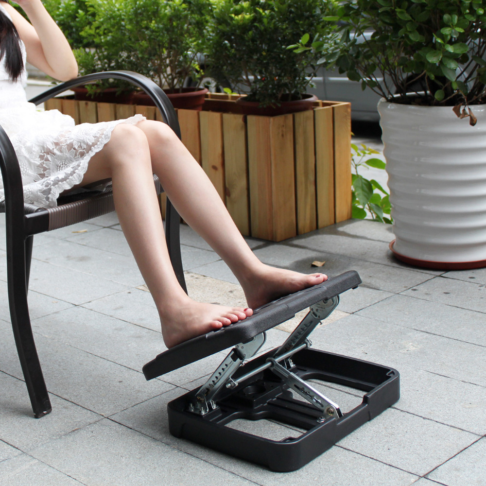 rocking footrest desk products healthpostures for