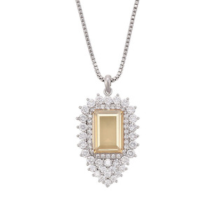 XN4744- xuping fashion champagne color Embellished with crystals from Swarovski pendant