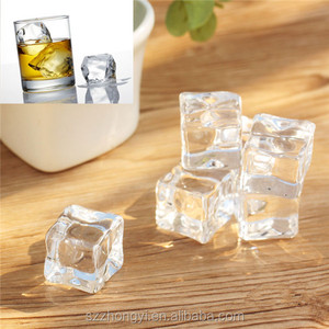 Plastic promotion gift decorative artificial ice cubes